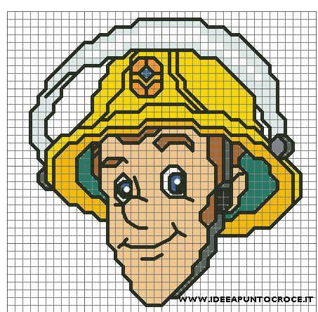 Sam cross stitch by syra1974.deviantart.com on @deviantART