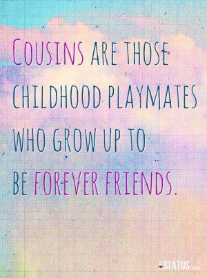 Blessed that my kids have such a bond with their cousins.