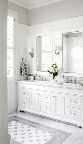 elegante bagno