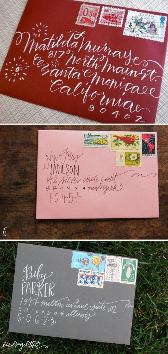 Addressing letters going to do this on my christmas cards..