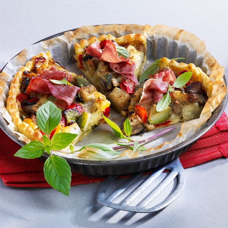 Découvrez la recette Tarte aux légumes sur cuisineactuelle.fr.