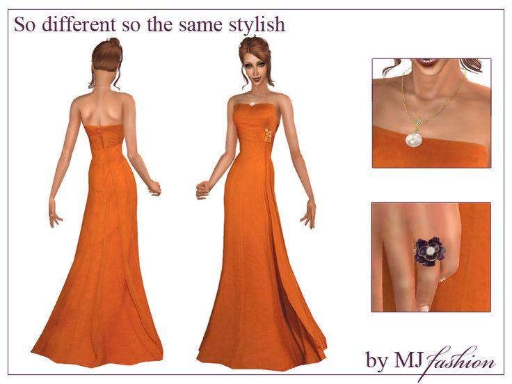 Summer dress august collection by orange-sim