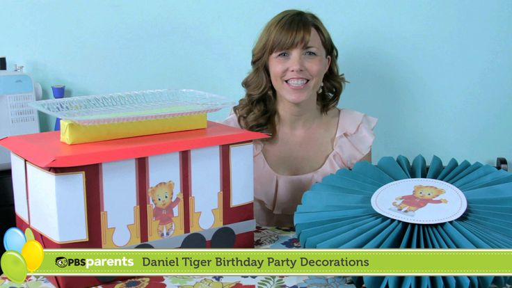 Throw a grrrific party for your little tiger's birthday with these DIY Daniel Tiger birthday party decorations!