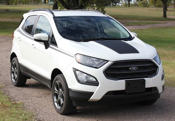 Ford Ecosport Hood Decals Amp Hood 2018 2019 2020 3m Or Avery Supreme Or 3m 1080 Wrap Vinyl Ford Ecosport Ford Stripe Kit