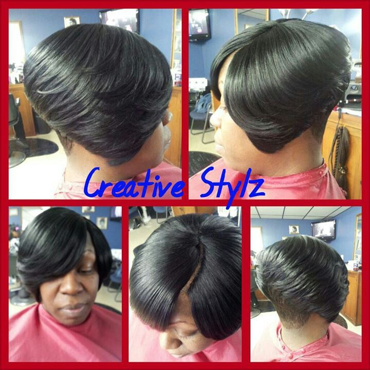 Terrific 1000 Images About Hair Quickweave Invisible Part On Pinterest Short Hairstyles For Black Women Fulllsitofus