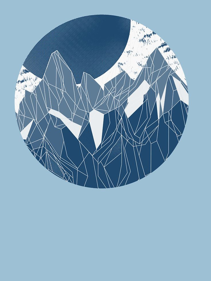 My blue #mountain #gradient #alternative for t-shirts. Love it so much, it turned out really well. @oozefina #print