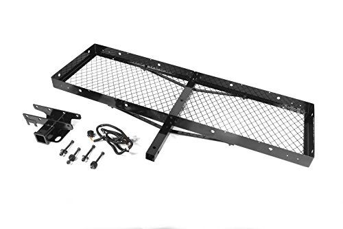Rugged Ridge 11580.20 Receiver Hitch with Cargo Rack - http://www.caraccessoriesonlinemarket.com/rugged-ridge-11580-20-receiver-hitch-with-cargo-rack/  #1158020, #Cargo, #Hitch, #Rack, #Receiver, #Ridge, #Rugged #Cargo-Carriers, #Fall-Winter-Driving