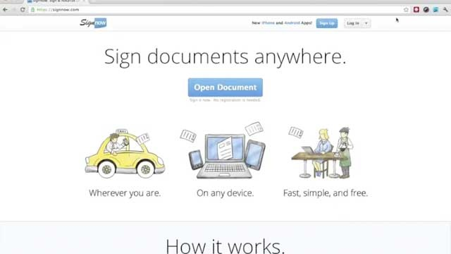 SignNow is the easiest way to sign a document anywhere you go. Interesting - must look into this for photography clients
