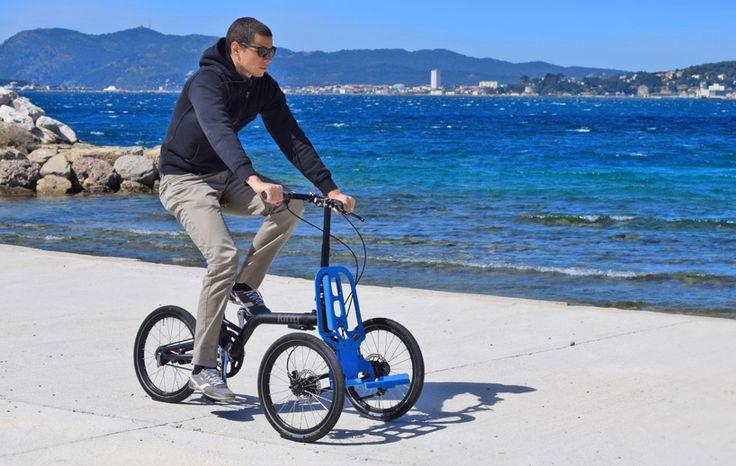 jouffret   peytour configure urban tricycle for everyday needs - designboom | architecture