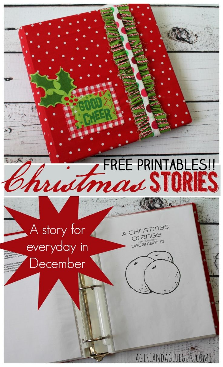 christmas stories advent for everyday in December--free printable with coloring page and a fun craft you can do to correspond!