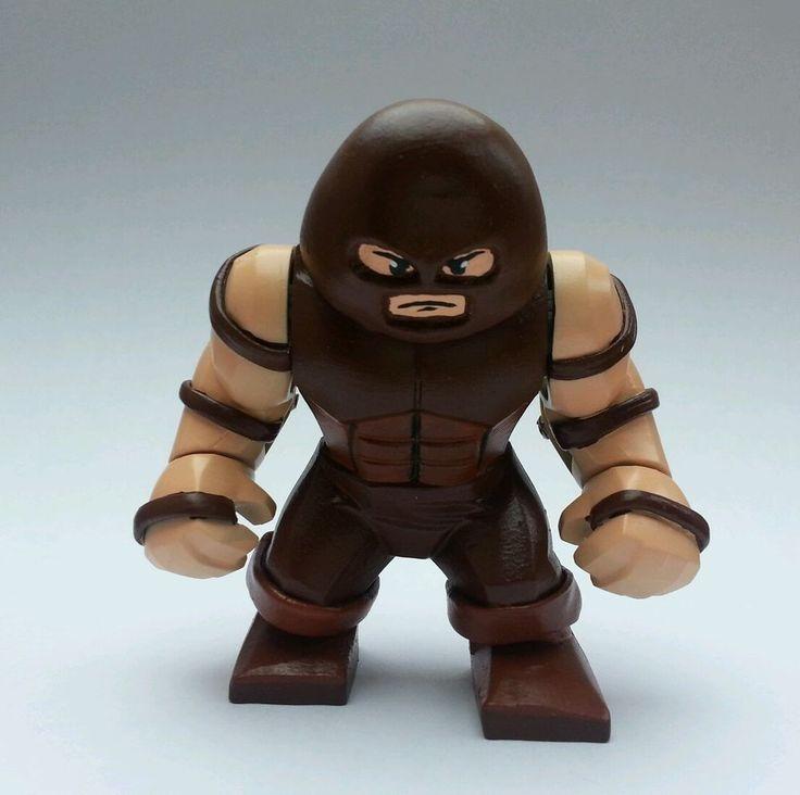6 Malvorlagen Lego Superheroes: Lego Juggernaut X-men Hulk Custom Marvel Superhero Big