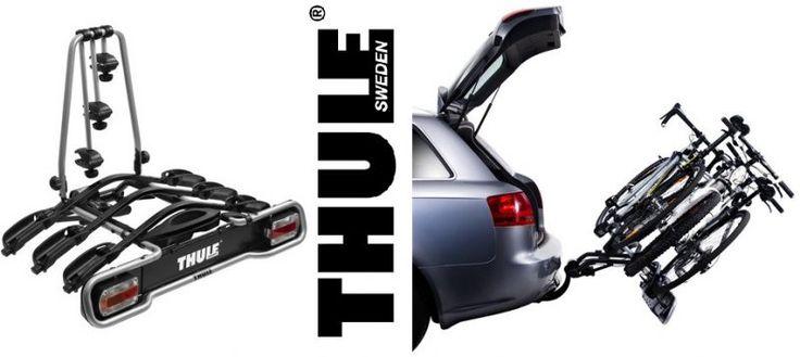 ¡Chollo! Portabicicletas Thule EuroRide 943 para bola de remolque por 218 euros.
