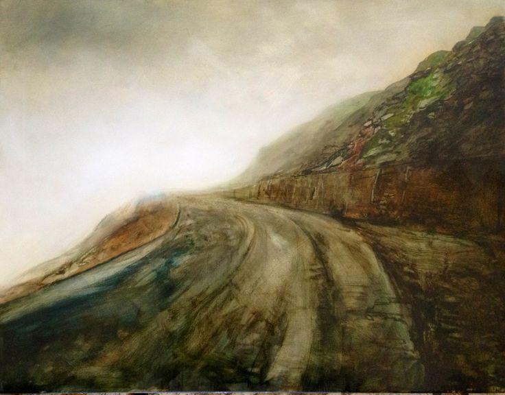 Mist II Oil on canvas 75x100cm