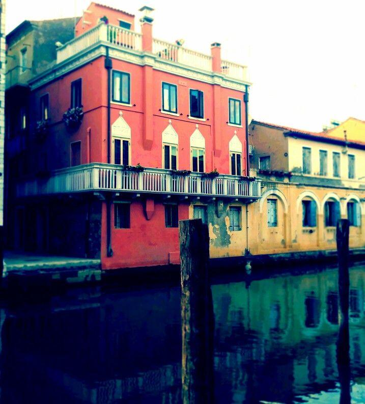 Case sull'acqua #chioggia ph. Raffaella Gorda