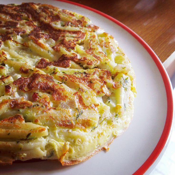 Una buonissima variante della #frittata: con la #pasta! #food #reFOODing #cibo