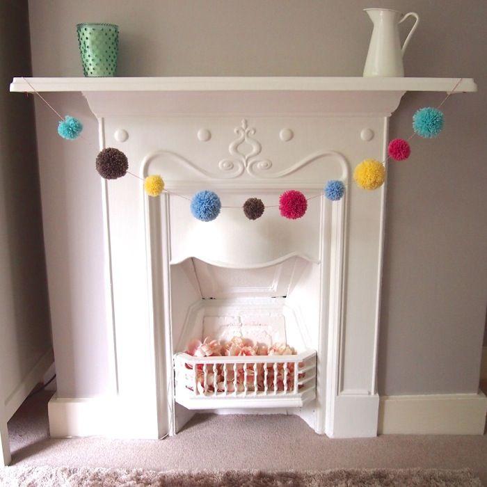 DIY - Pom Pom Garland from The Homemakery