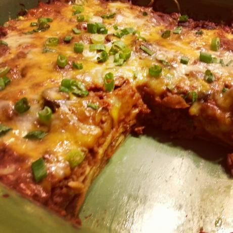 Easy Enchilada Casserole - trying this one out tonight!