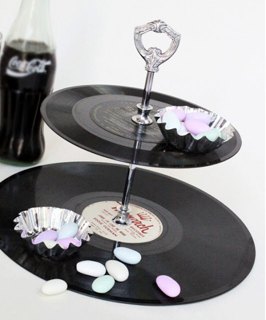What about printing copies of records and putting them on my silver candy tray?