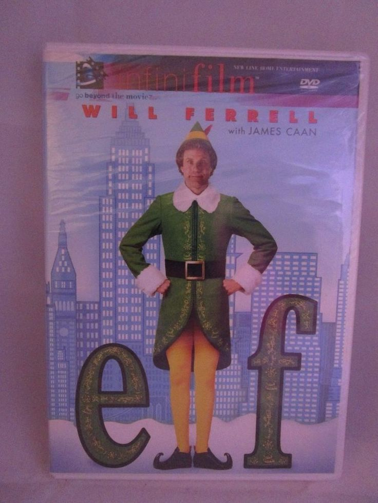 Elf (DVD, 2004) Rated PG Will Ferrell NEW & SEALED