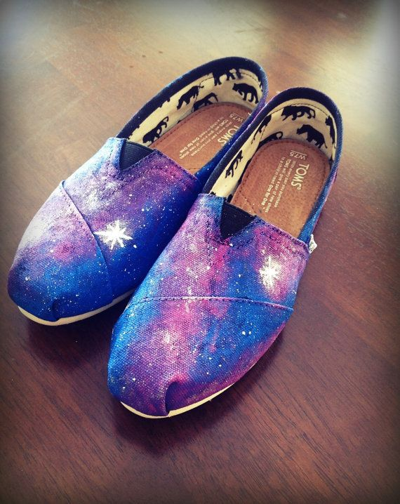 Youth GALAXY Toms  Women & Men sizing also by DaydreamersApparel, $85.00