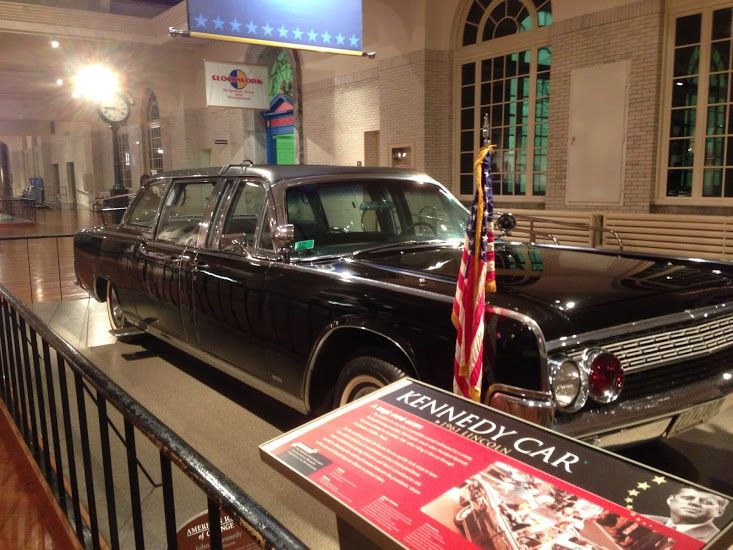 Presidential Limousine In Which John F Kennedy Was