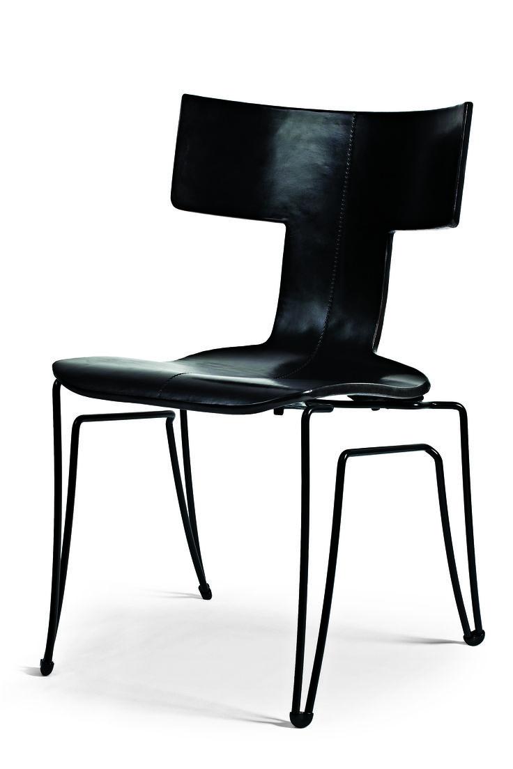 john hutton / anziano klismos chair for donghia