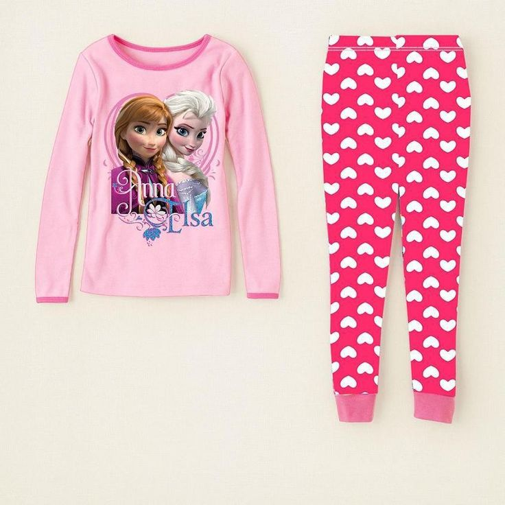 Elsa and Anna, Long,cotton PJ's