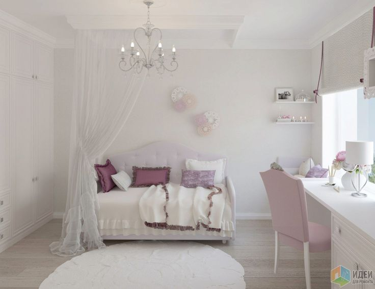 Дизайн детской комнаты для девочки 5 лет