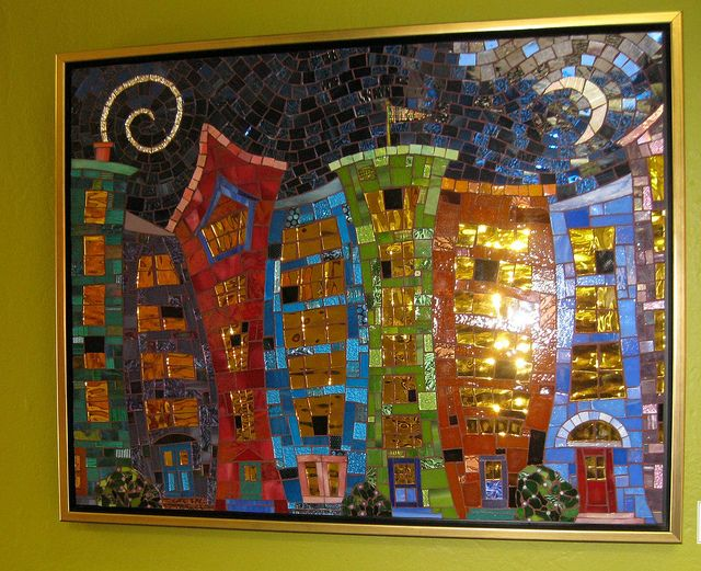 Fantacity by Institute of Mosaic Art, via Flickr  by Glynnis Kaye