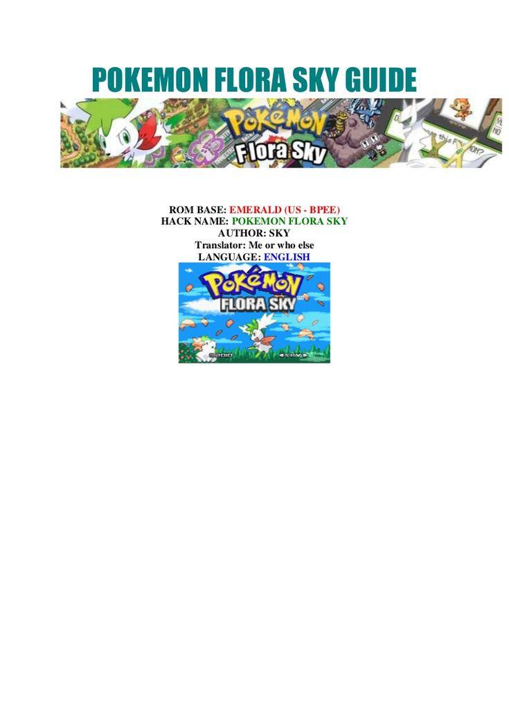Pokemon flora sky guide (english) by ertre1 via slideshare