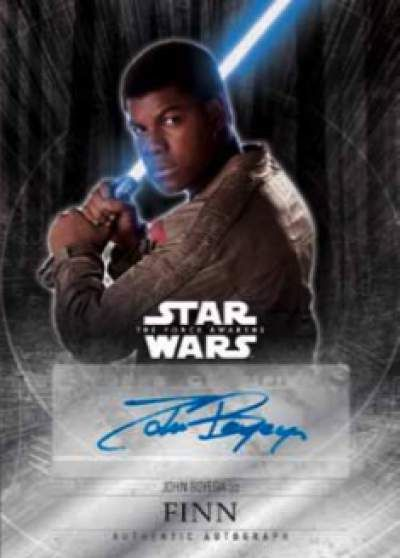 Star Wars The Force Awakens Chrome Finn Auto