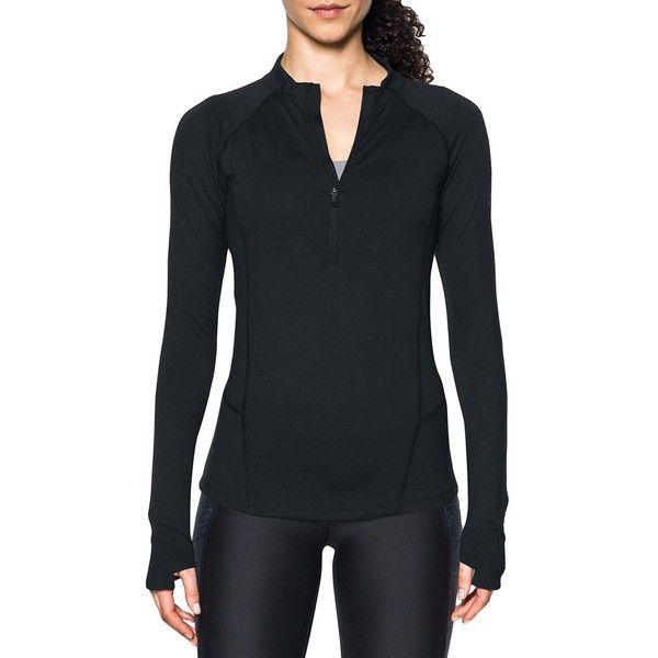 under armour half zip pullover women's