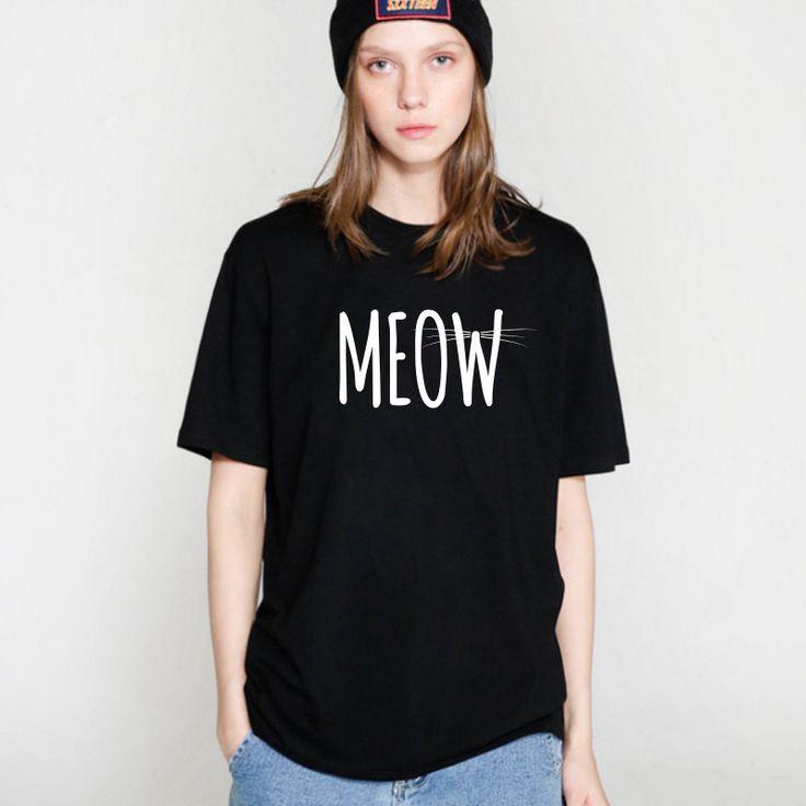 Cat MEOW T-Shirt //Price: $9.97 & FREE Shipping //     #persiancat #persian_cat #cat #cats #catlover #catsofinstagram #catstagram #instacat #cutecat