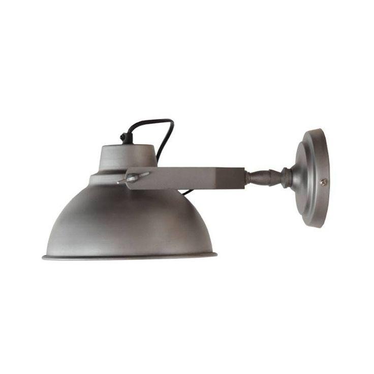 Deze wandlamp past perfect in een industrieel interieur. Wandlamp urban is leverbaar in verschillende afmetingen en kleuren.