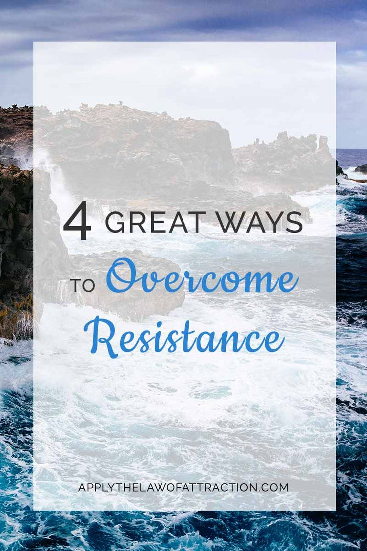 resistance law of attraction, detachment, allowing, letting go, how loa works