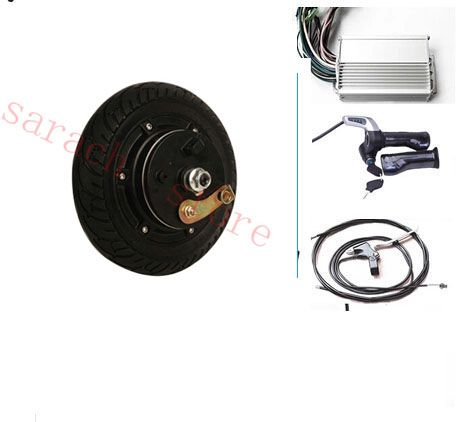 """8""""  350W 36V drum brake electric wheel hub motor , electric motor for scooter ,electric bicycle conversion kit"""