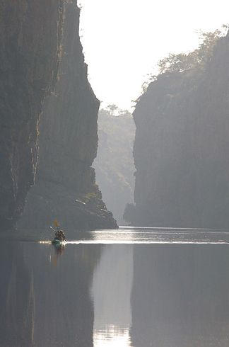 The stunning Katherine Gorge in the Northern Territory | 34 Reasons Australia Is The Most Beautiful Place On Earth
