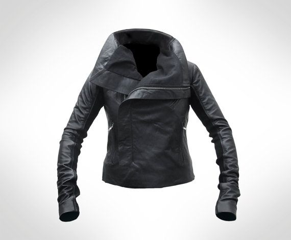 Great Leather Jacket at Etsy