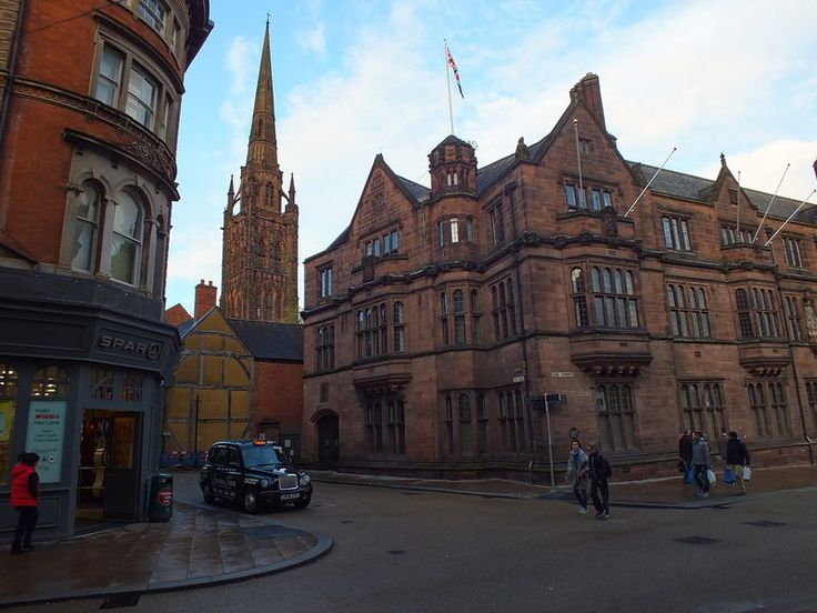 The Council House with St. Michael Cathedral in background