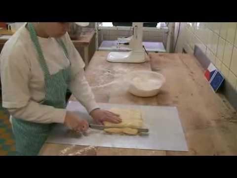 Výroba listového těsta,trubičky,šátečky, žloutkové řezy