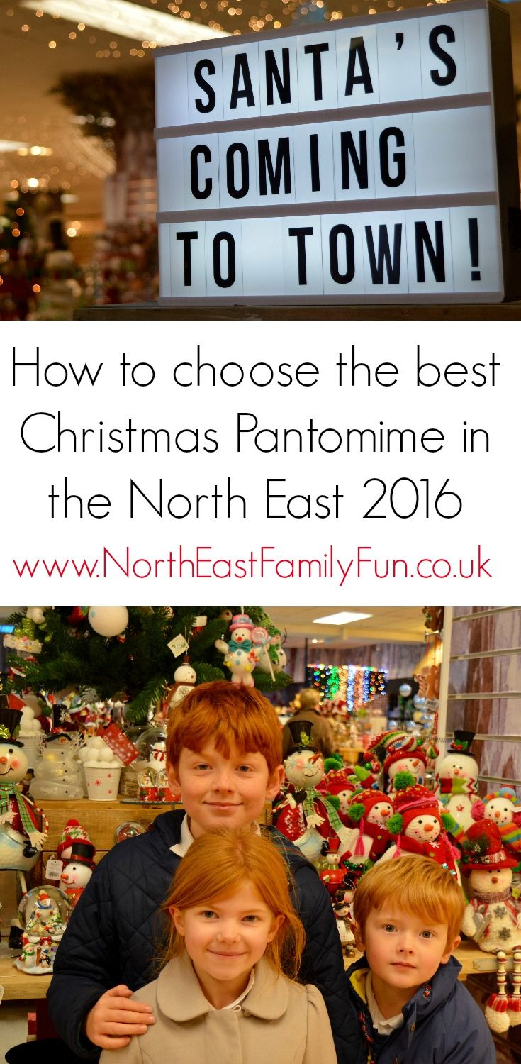 A guide to the best pantomimes in the North East 2016