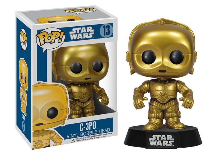 Large Size Action Figure Star Wars C-3PO 12 Inch Series Doll Display Case