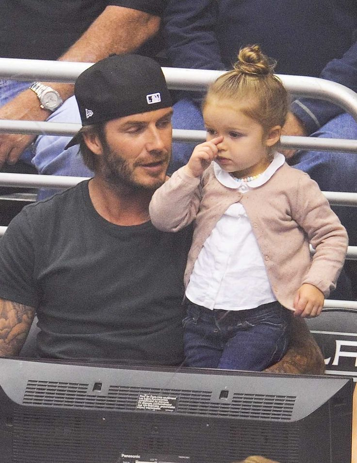 David and Harper Beckham | ELLE UK