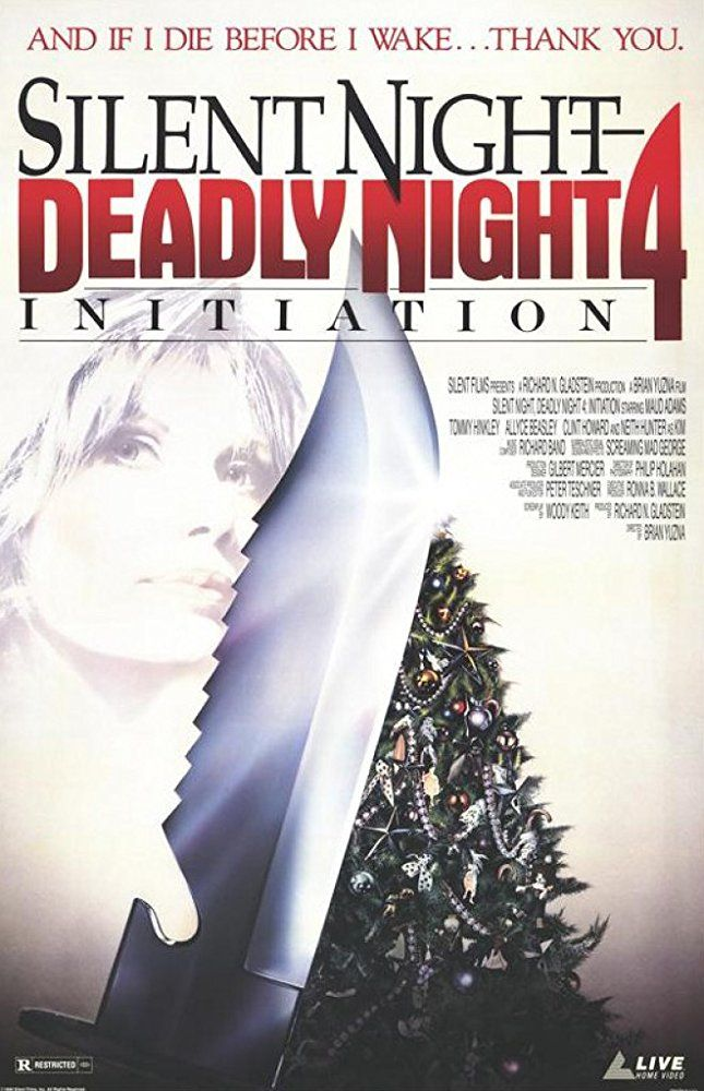Initiation Silent Night, Deadly Night 4 (Video 1990