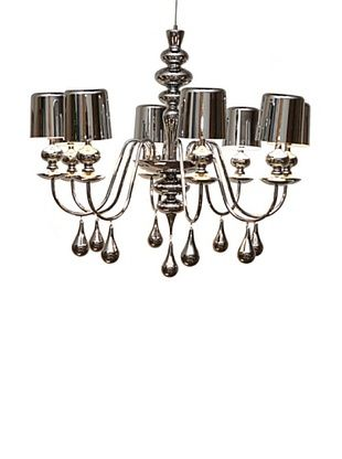 -46,800% OFF Arttex Lighting Vienne Pendant Light, Silver, Medium