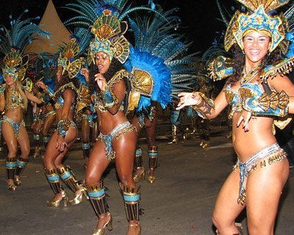 Rio Carnival Girls