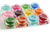 8 ml X 12 colores sólidos 3D esmalte de uñas de Gel UV esmalte de uñas de arte diseño de uñas de Gel decoración manicura extensión