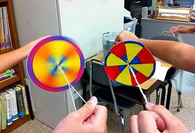 pezzettino: Color Wheel Spinners