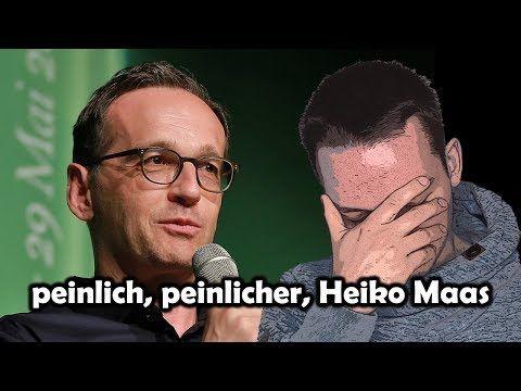 (160) Peinlich, peinlicher, Heiko Maas - YouTube