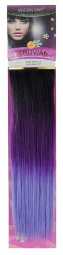 Peruvian Human Blended Remy Yaki Weft Hair Califor…